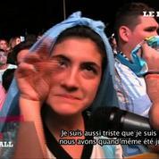Mondial 2014 : Buenos Aires - Berlin, douloureux parralèle pour les supporters