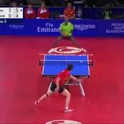Un coup de défense bluffant en tennis de table