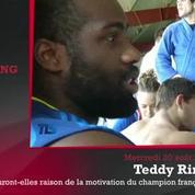 Zap'Sport : Teddy Riner veut écraser ses adversaires, le foot français fait grise mine eu Europe.