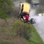 Rallye - Il se crash dans le public mais ne fait pas de victimes