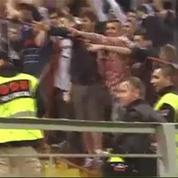 Quand les supporters de la Bosnie et de la Belgique sympathisent