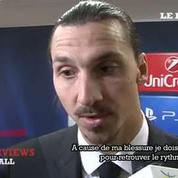 Zlatan Ibrahimovic : «Je dois jouer plus»