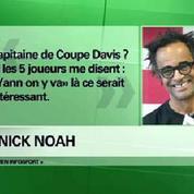 Noah à la tête de l'équipe de France de Coupe Davis ?