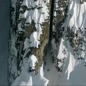 En ski, la descente de l'année en Alaska