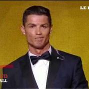 Cristiano Ronaldo remporte son 3e Ballon d'Or