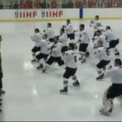 Un haka en hockey sur Glace