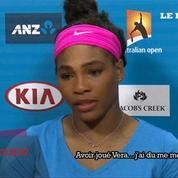 Serena Williams qaulifié pour le 3e tour de l'Open d'Australie