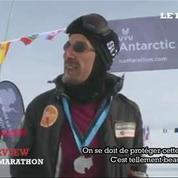 Malek Boukerchi : L'homme qui a couru 142 kilomètres en Antarctique en 2 jours