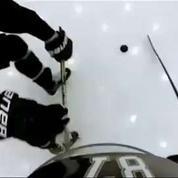 Découvrez la technique d'un champion olympqiue de hockey en caméra embarquée
