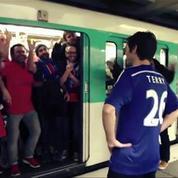 L'excellente parodie des fans parisiens pour se moquer de Chelsea