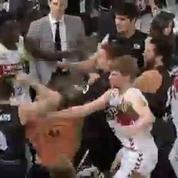 Le derby basque dégénère dans le championnat d'Espagne de basket