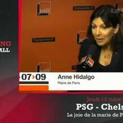 Anne Hidalgo critique aussi l'arbitre de PSG-Chelsea
