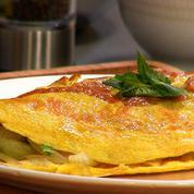 Extrait de Recette QOOQ : Omelette Corse