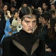 Les meilleurs moments du défilé Givenchy automne-hiver 2015-2016
