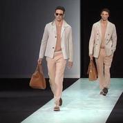 Défilé Homme Giorgio Armani printemps-été 2014