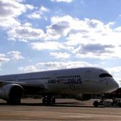 Visite de l'Airbus A350: un bijou de technologie