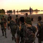 Inondations Allemagne: soutien de l'armée française