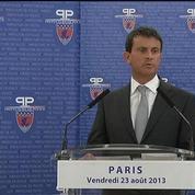 Manuel Valls rend hommage