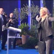 Clôture de l'Université d'été du FN par un discours de Marine Le Pen