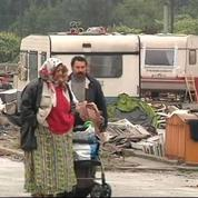 A Lille, le plus grand camp de Roms évacué