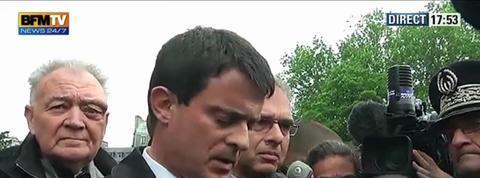 Suicide à Notre-Dame : Valls exprime son