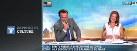 Zapping TV : le présentateur envoie un SMS en plein journal !