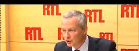 Syrie : Bruno Le Maire demande des explications à Hollande