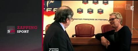 Zap'Sport: Le Graët bousculé, Manaudou regrette Lucas