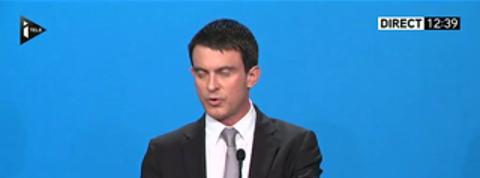 Valls annonce qu'il ne touchera pas au smic