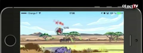 WWF Rhino Raid, devenez un rhinocéros (test appli smartphone)