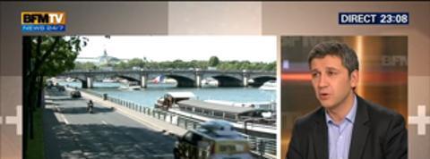 Le Soir BFM: Lutte contre la pollution: Anne Hidalgo a présenté sa feuille de route lors de son premier Conseil de Paris
