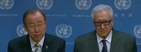 Syrie : le médiateur de l'ONU démissionne