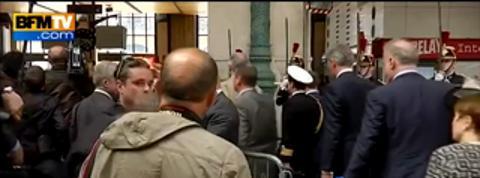 Débarquement: arrivée d'Elizabeth II à Paris