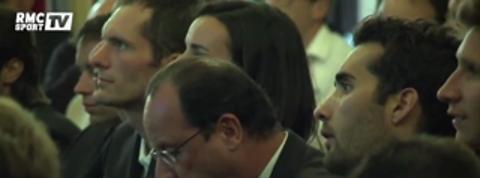 Football / François Hollande a vibré pendant France Honduras