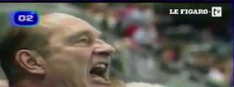 Le (faux) JT du Mondial : les Chirac, premiers supporters des Bleus !