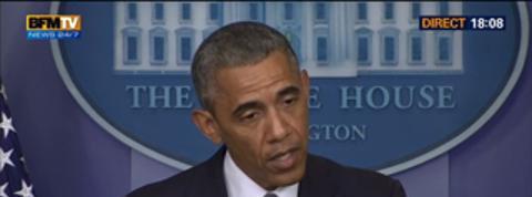 BFM Story: Edition spéciale: Intervention de Barack Obama au lendemain du crash du vol MH17 en Ukraine