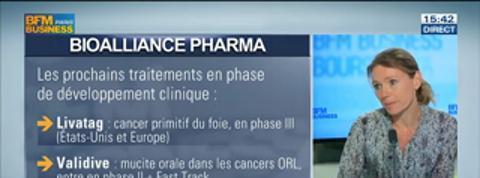 BioAlliance Pharma: le Sitavig arrive sur le marché américain: Judith Greciet, dans Intégrale Bourse –
