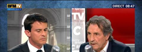 Bourdin Direct : Manuel Valls –