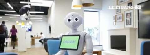 Rencontre avec Pepper, dernier né des robots d'Aldebaran