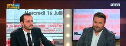 Vincent Ducrey, co-fondateur du HUB Institut, dans Le Grand Journal 2/7
