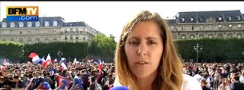 France-Allemagne: 20.000 supporters attendus place de l'Hôtel de Ville à Paris