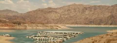Nevada : le lac Mead, plus grand réservoir des États-Unis, à son niveau le plus bas historique