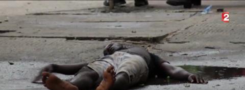 Ebola : les images choc d'un reportage sur France 2