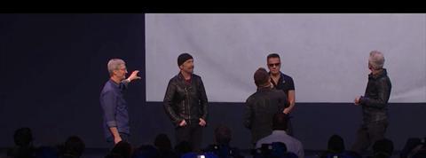 Apple : U2 dévoile son nouvel album en direct et l'offre aux utilisateurs d'iTunes