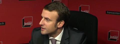 Emmanuel Macron explique