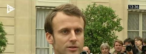 Macron : «Il faut débloquer» l'économie