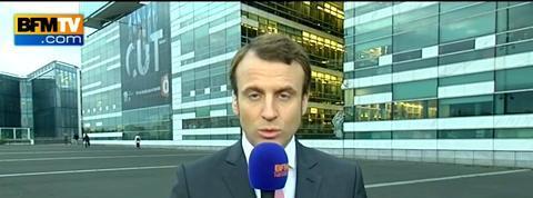 Emmanuel Macron: Il n'y a pas d'inquiétude à avoir pour l'avenir de Total