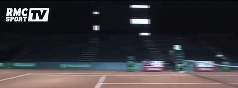 Tennis / Benneteau et Gasquet à l'entrainement