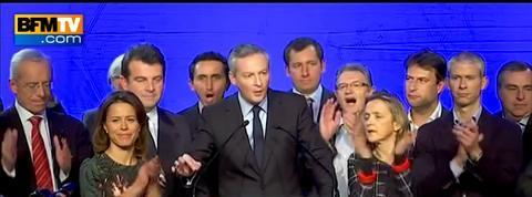 Bruno Le Maire: Ce soir, je suis heureux