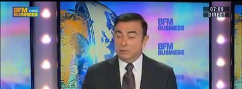 Le groupe Renaultest plus solide qu'il y a 10 ans: Carlos Ghosn (1/2)